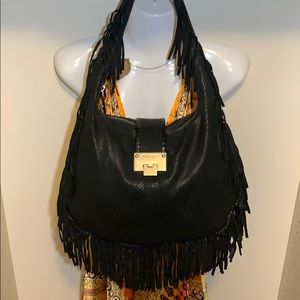 JIMMY CHOO FRINGE PURSE